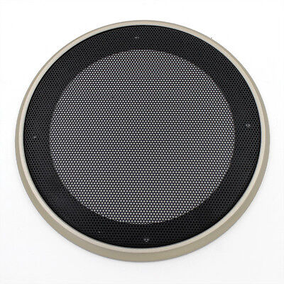 "Gold Woofer ​Universal 6.5"" Speaker Coaxial Steel Mesh Grills Cover Mask Cover"