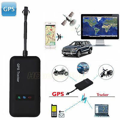 New Vehicle GPS Tracker Truck GSM Spy Personal Realtime Tracking Device Locator