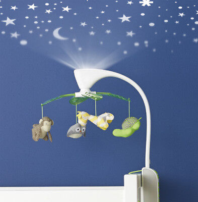 Skip Hop Moonlight & Melody Zoo Mobile Star Projector Lullaby Sound Machine Baby