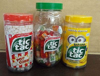 TIC TAC COMBO MINT JAR LIMITED EDITION free shipping each 4.3 gm