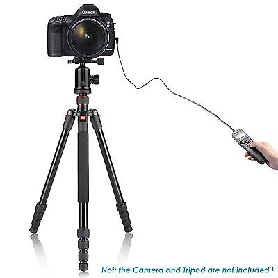 (UK) Neewer digital LCD Timer Shutter Release Remote Control RS-60E3 for Canon