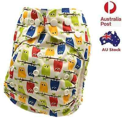 Brand New Baby Modern Cloth Nappy MCN Diaper Adjustable Reusable Nappies (D128)