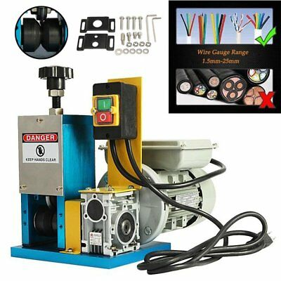 Convenient Powered Electric Wire Stripping Machine Tool Scrap Cable Stripper