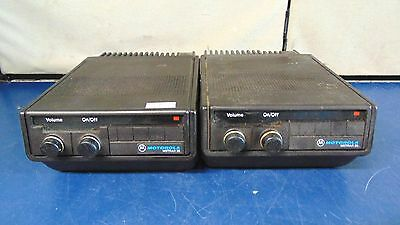Lot Of 2 Motorola Motrar 20 Trunked Trial Systems D25WLA5G00-Untested S2391