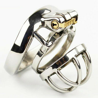 NEW Latest Design Stainless steel Male chastity devices Metal Cock Cage S739