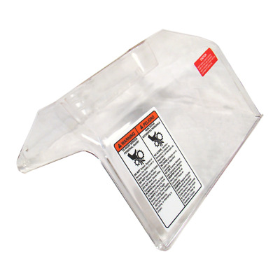 Safety cover for Biro Tenderizers, Clear plastic new with magnet and labels,