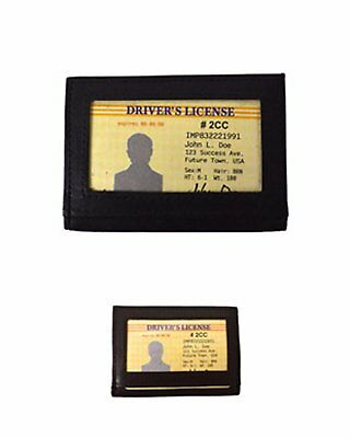 Leather Card and ID Holder (2CC)