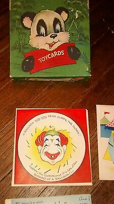 Vintage Toy Cards For All Occasions 1950s