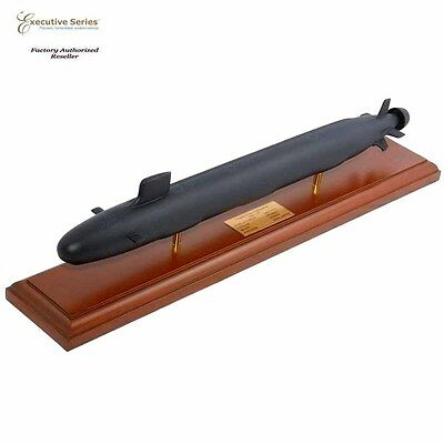 "US NAVY VIRGINIA CLASS Submarine 23.25"" Built Large Wooden Model Ship Assembled"