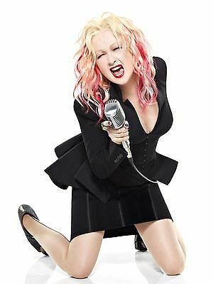 Cyndi Lauper 8x10 Glossy Photo Print #CL3