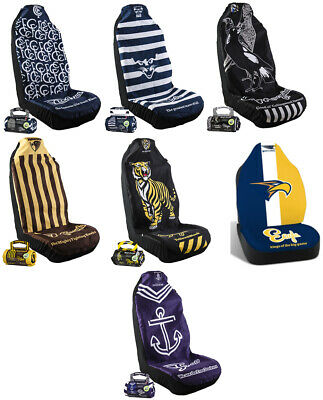 Afl Car Seat Covers - Many Teams Available - Fits Seats For Any Car