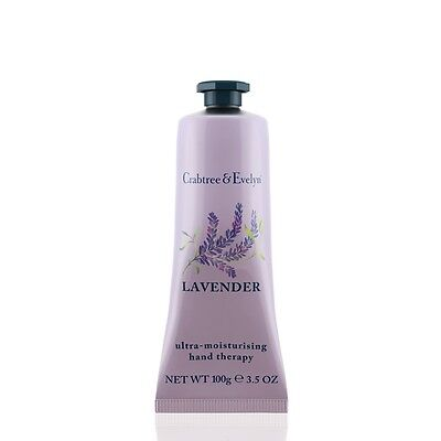NEW Crabtree & Evelyn Lavender Hand Therapy Cream 100g - Unboxed