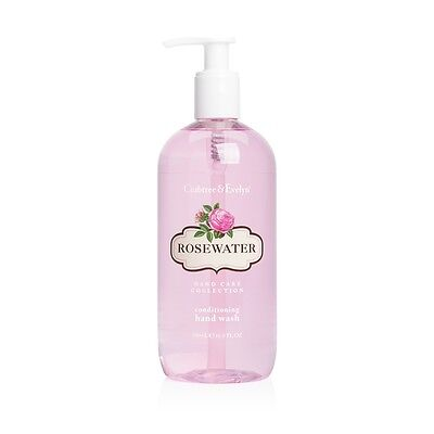 NEW Crabtree & Evelyn Rosewater Hand Wash 500ml