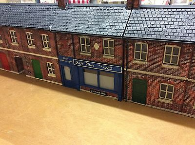 """Roy's Plaice"" Garden Railway G Gauge 1:24th Scale Fish And Chip Shop"