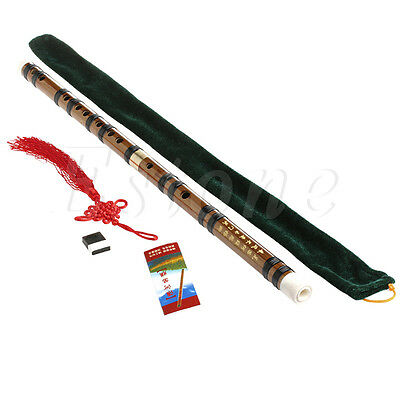 Traditional Chinese Musical Instrument Handmade Bamboo Flute in G Key Beginner