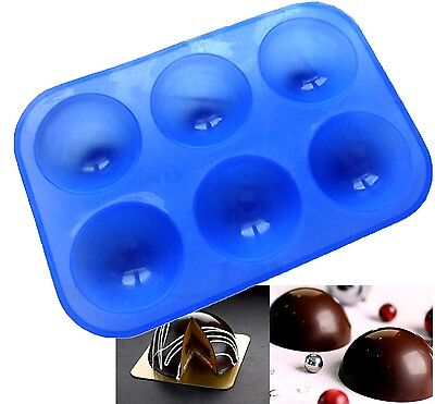 Half Sphere Ball Silicone Mould 5cm Round Dessert Baking Ice Chocolate Savory