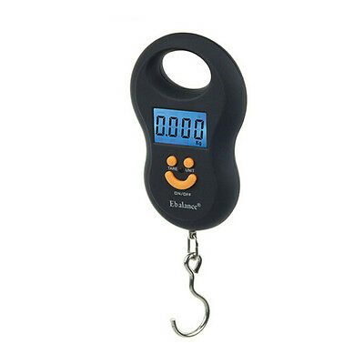 Pocket Portable Mini 50kg/5g LCD Digital Hanging Luggage Weight Hook Scale New