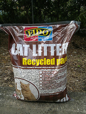 Kitty Litter, Fido ,10 Litre, Environmentally Friendly,high Absorbtion, Low Odor
