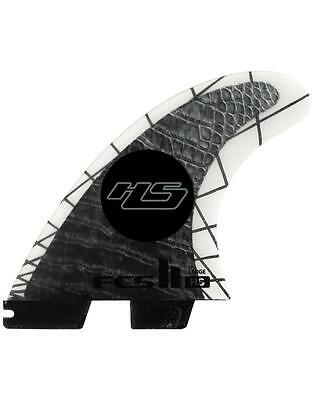 FCS II HS Surfboard Tri-Quad Set In Large Hayden Shapes New & Genuine From FCS 2