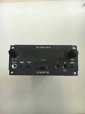 Aircraft Boeing ? Airbus ? Panel Annunciator *As Removed* Fuel Flow