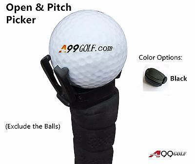 A99 Golf Ball Pick up Open & Pitch and Retriever Tool for Putter Grip