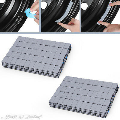 12kg Self Adhesive Wheel Tyre Balance Weights 12x5g 200x60g Stick-On Strips Grey