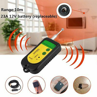 Bug Detector Hidden Camera Video GSM Wireless Device Finder Security Monitor HC
