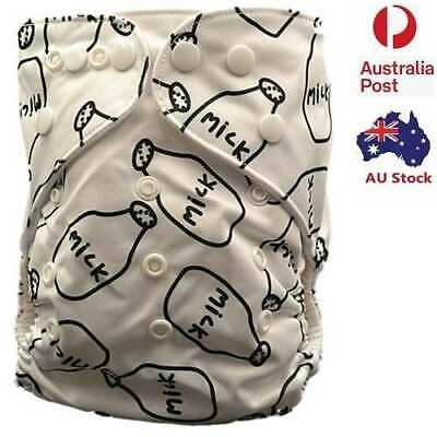 New Baby Modern Cloth Nappies Diaper Nappy Minky Adjustable Reusable MCN
