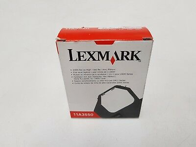Genuine Lexmark 11A3550 Black Re-inking Print Ribbon
