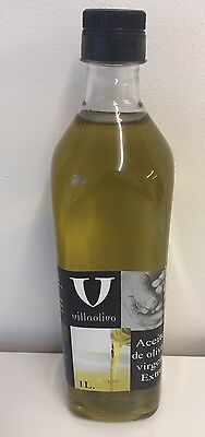 Spanish Extra Virgin Olive Oil 1 Litre Cold Extracted. Aceite De Oliva