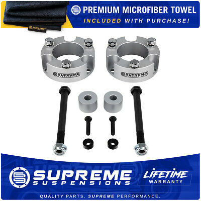"For 95-04 Toyota Tacoma 3"" Front Lift Leveling Kit w/ Diff Drop 4WD Silver PRO"