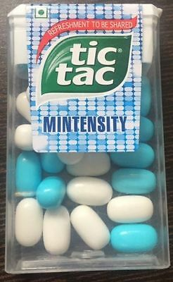 TIC TAC MINTENSITY MINT CANDY 13gm ( PACK OF 6 )
