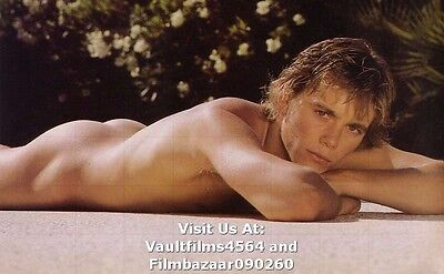 "CHRISTOPHER ATKINS - GAY INTEREST - 12"" x 8"" Colour Photograph 1980's #2198"