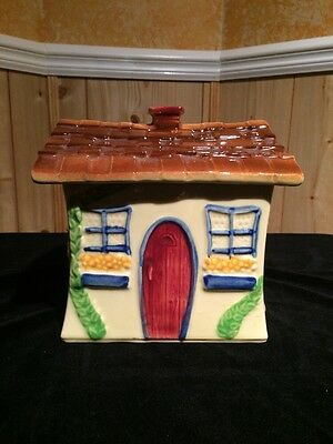 Super Rare Shawnee Cottage Cookie Jar USA 6 Great Colors