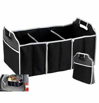 3 in 1 Collapsible Car Boot Organiser Foldable Shopping Tidy Heavy Duty Storage