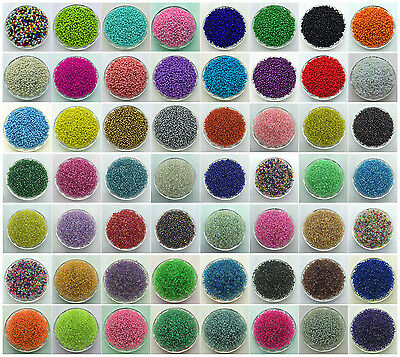 DIY 1000 5000 Pcs 2mm Seed Spacer beads Ornaments Jewelry Fitting Pick 60Colors