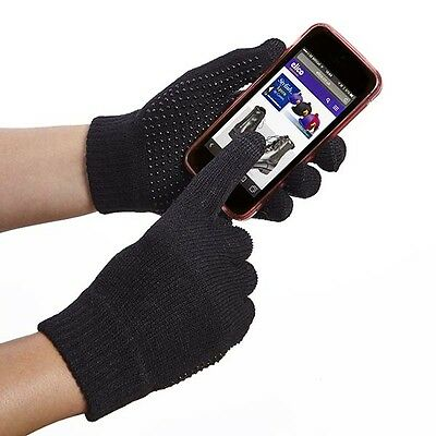 Elico Touch Screen Magic Riding Gloves Adults  Pimple Grip  - One Size