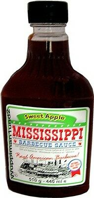 Mississippi Barbecue Sauce Sweet Apple BBQ,Würzsauce,Grillsauce 510 g