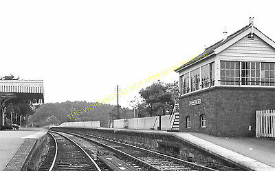 Clutton Railway Station Photo. Pensford - Hallatrow. Bristol to Radstock. (16)