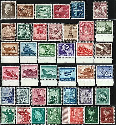 GERMANY Deutsches Reich Stamp Postage Collection USED Mint LH NH OG 1944 GER17