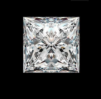 1.6ct Princess Synthetic by Crystal Carbon Labs Outshines diamonds & Moissanite