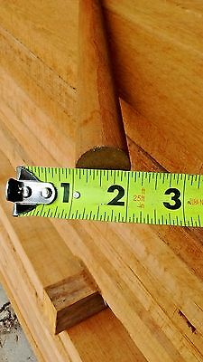 "Teak Poles / Dowels 1"" diameter x 41"" long"