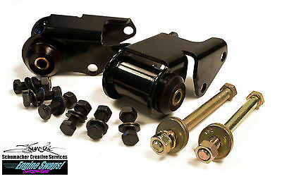 73PA Schumacher Mopar Motor Mount Engine Swap Kit 1973 & Up Poly Spool 273/318