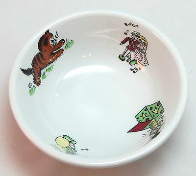 Vintage Mayer Restaurant China TOYLAND Child's Bowl #359