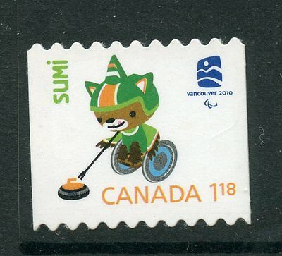 Weeda Canada 2309ii VF NH Die cut Olympics 'Sumi' single, from Annual Collection