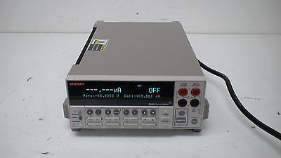 Keithley 2420 +/-[1uV-60V/100pA-3A]/60W High Current SourceMeter