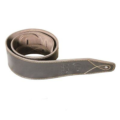 Leather Acoustic / Electric Guitar Strap [Black / Dark Brown / Light Brown]