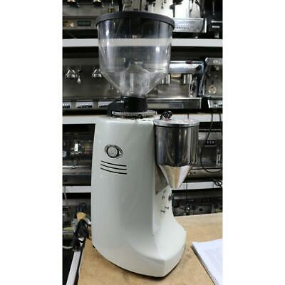 Mazzer Robur Electronic White Cheap Second Cafe Commercial Coffee Bean Grinder