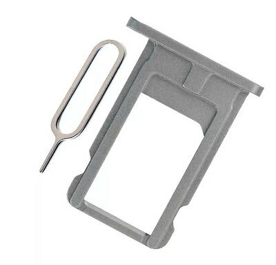 Nano Sim Card Tray Slot Holder Replacement for Apple iPhone 5s - Space Grey