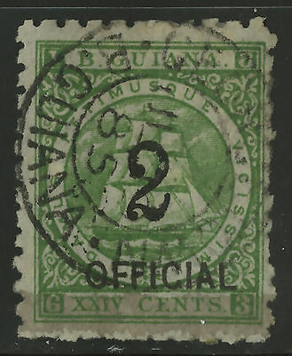 British Guiana  1881  Scott # 102  USED